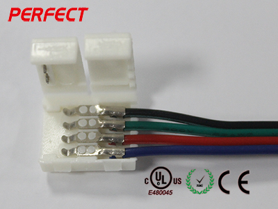 10MM RGB Non-Waterproof Type A Wire Connecto
