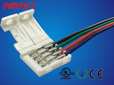 10MM RGB Waterproof Type A Wire Connector