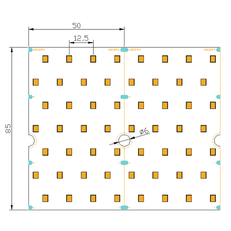 Multi-row  2835  LED  Strip  [560LED/M]